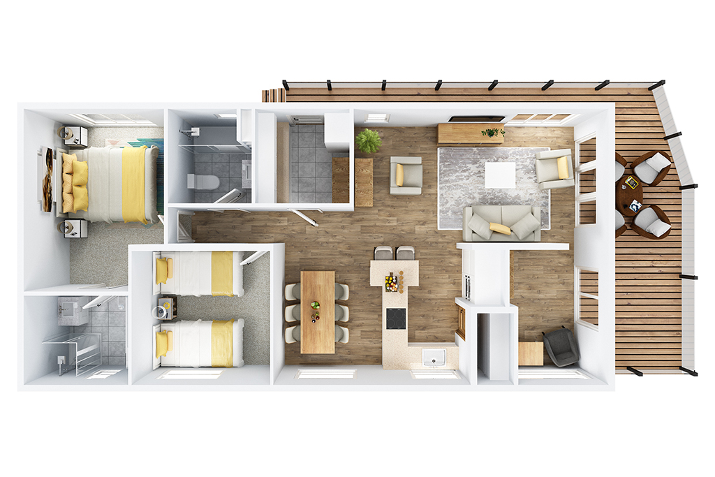 the allure floorplan