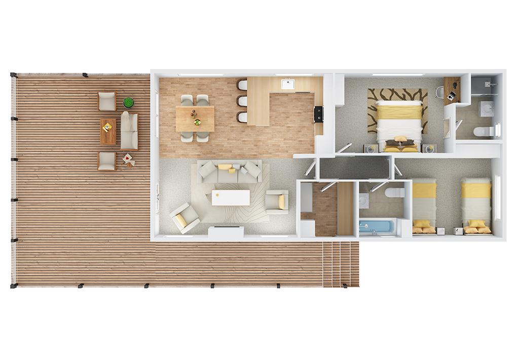 the classic floorplan