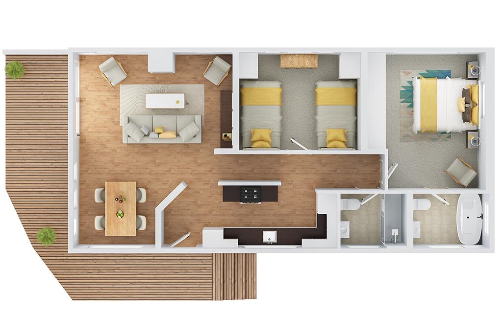 the spinney floorplan